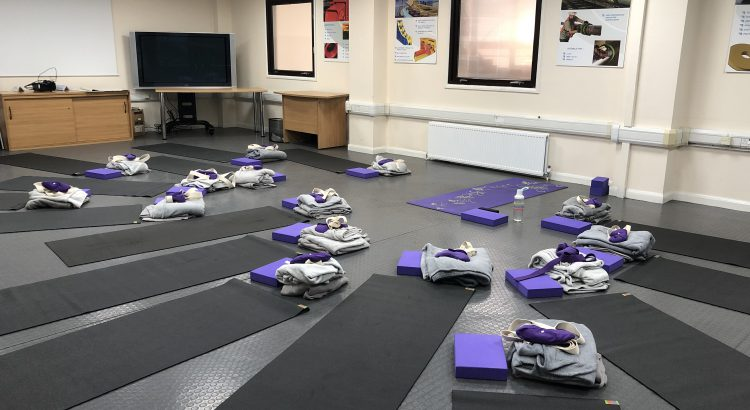 Corporate Yoga Leicester