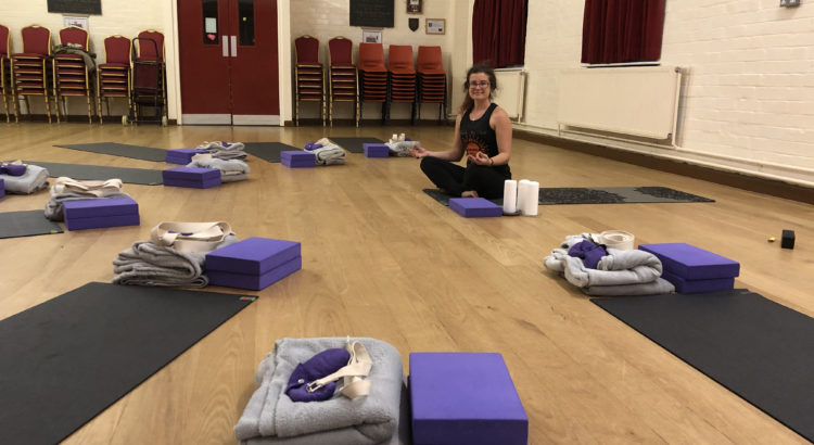 Adult Yoga classes in Leicester