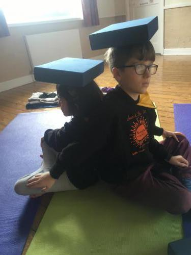 Partner twist with posture awareness & balance